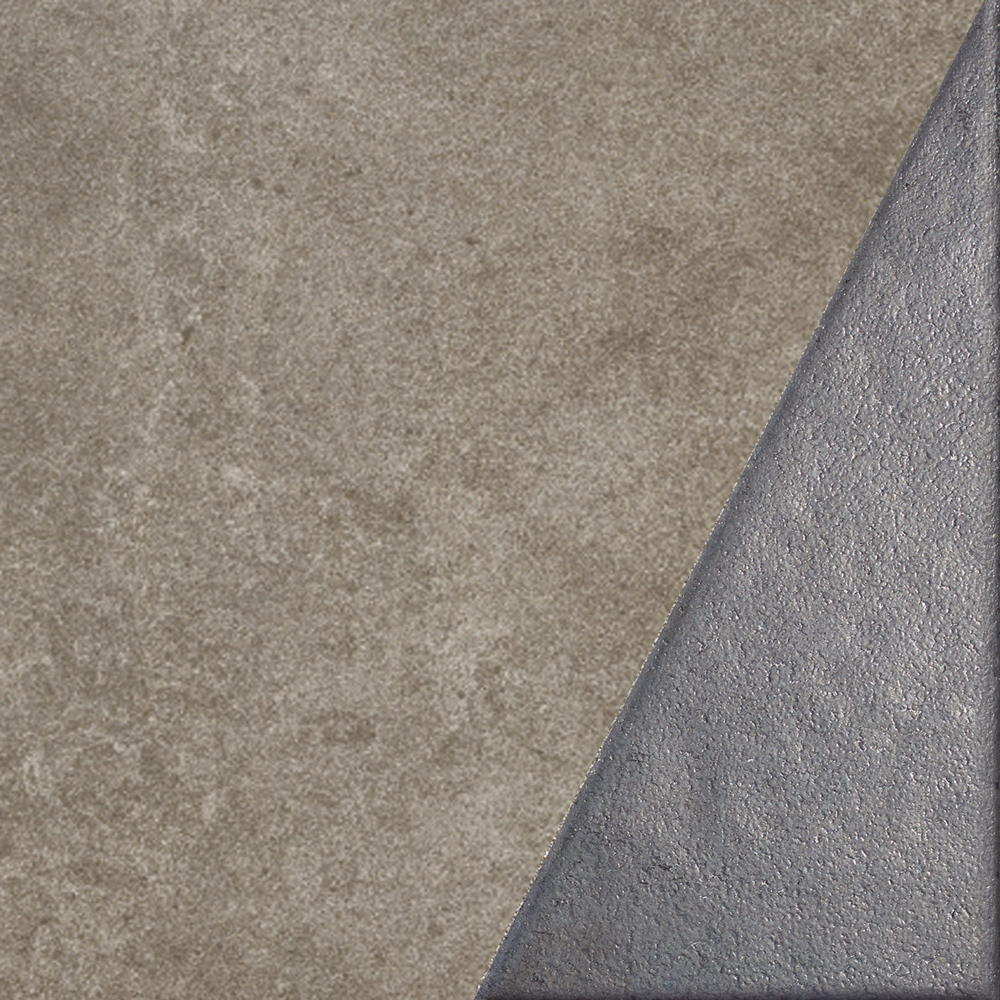 Dec. metal less off taupe